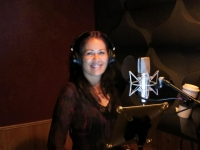 Sharon Rae in studio